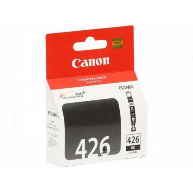 Картридж струйный Canon CLI-426BK 4556B001 черный оригинальный