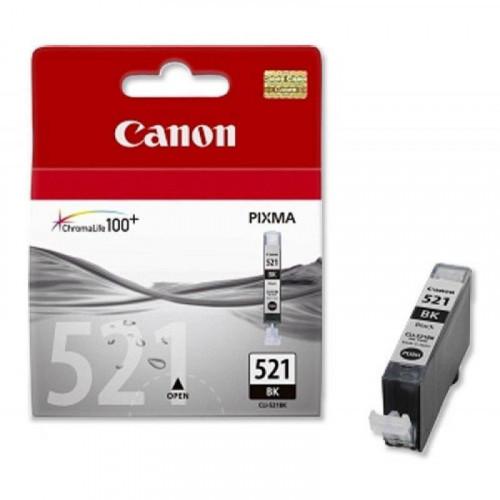 Картридж струйный Canon CLI-521BK 2933B004 черный оригинальный