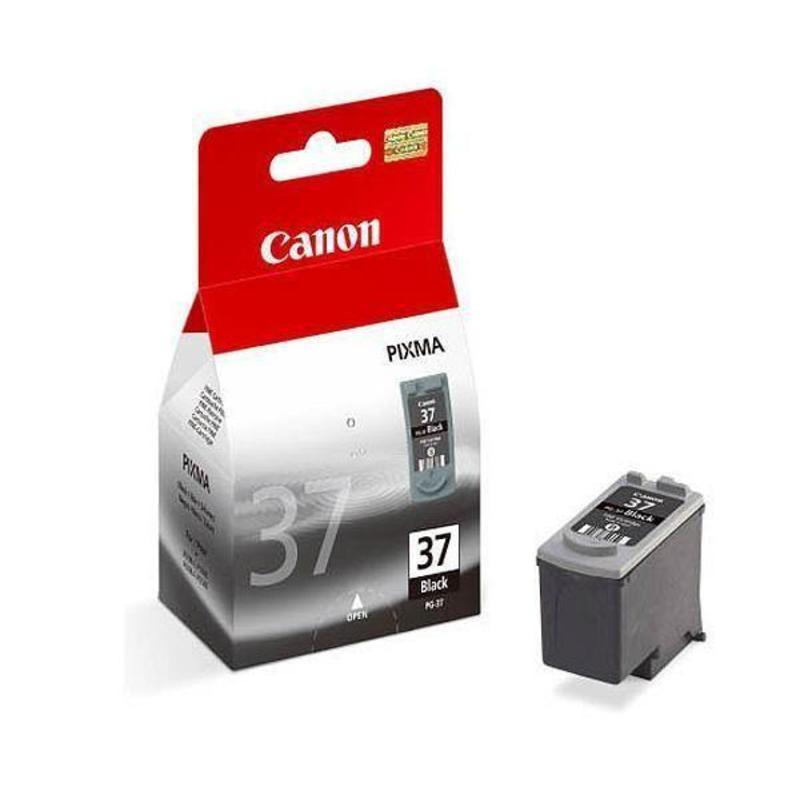 Картридж струйный Canon PG-37 2145B005 черный оригинальный