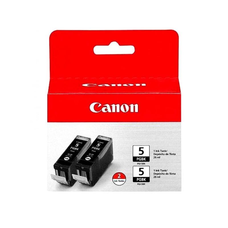 Картридж струйный Canon PGI-5BK 0628B030 черный оригинальный 2 штуки