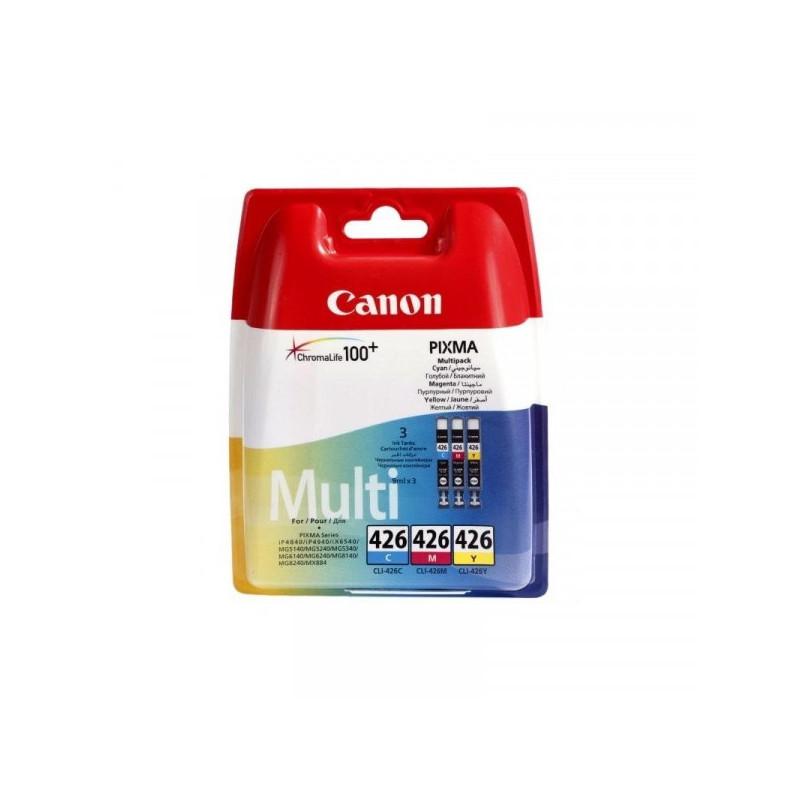 Набор картриджей Canon CLI-426 4557B006/4557B005 3 цвета оригинальные