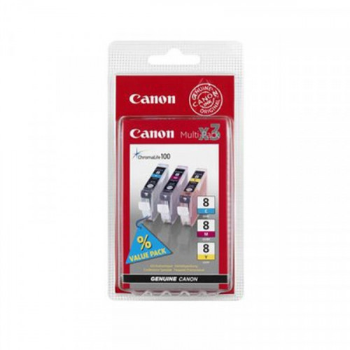 Картридж струйный Canon CLI-8CMY 0621B029 3 цвета оригинальный