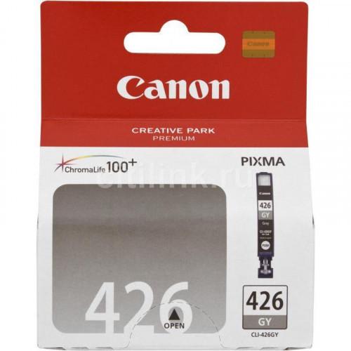 Картридж струйный Canon CLI-426GY 4560B001 серый оригинальный