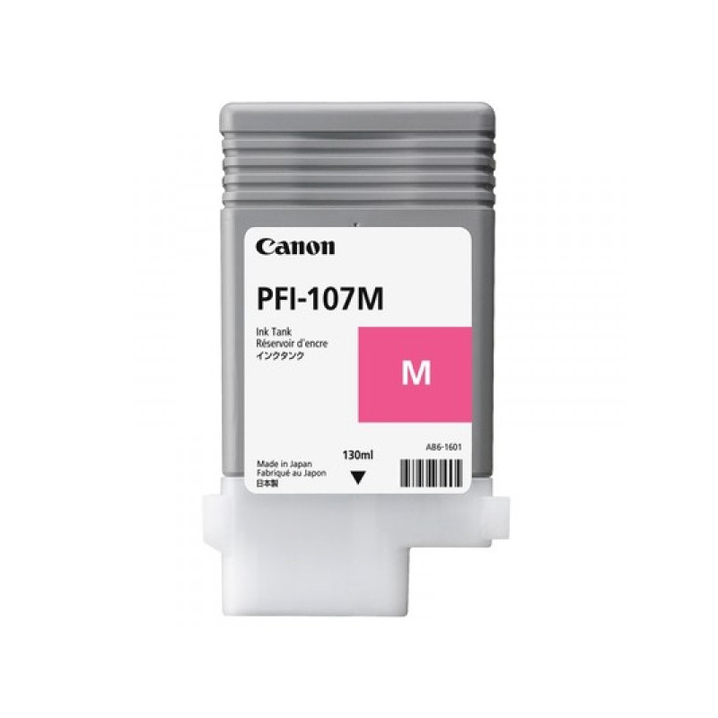Картридж струйный Canon PFI-107M 6707B001 пурпурный оригинальный