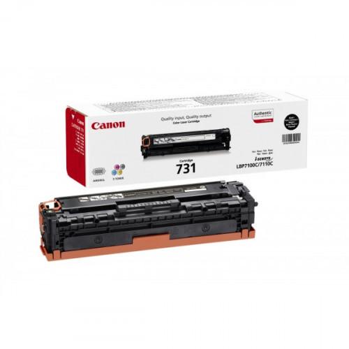 Картридж лазерный Canon Cartridge 731 BK 6272B002 черный оригинальный