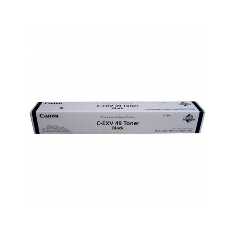 Тонер-картридж лазерный Canon C-EXV49Bk 8524B002 черный оригинальный