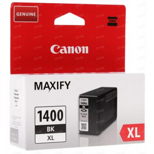 Картридж струйный CANON 9185B001 PGI-1400XL черный оригинальный