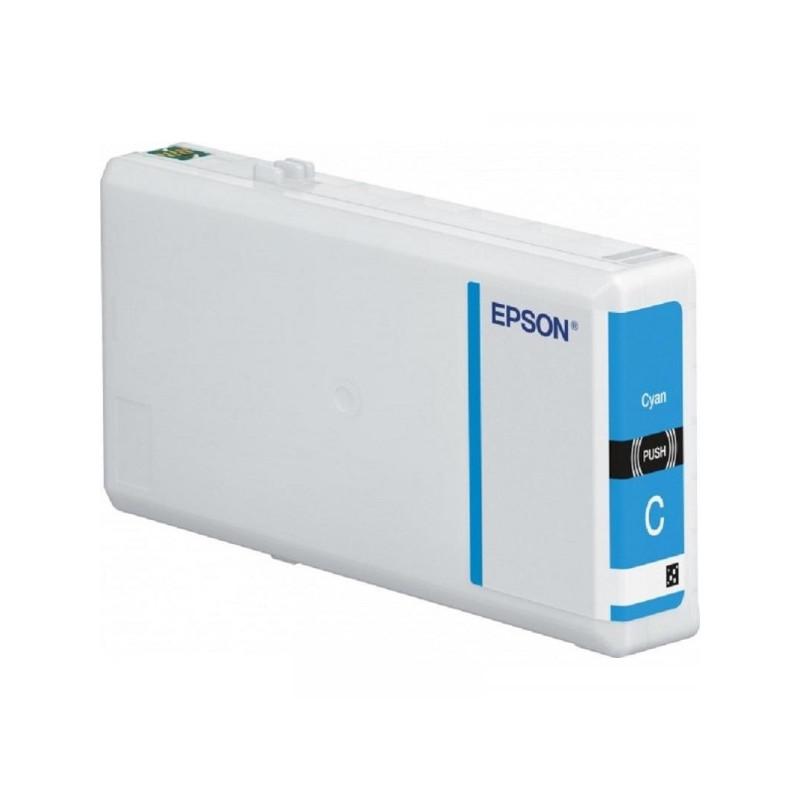 Картридж струйный Epson C13T79124010 голубой оригинальный