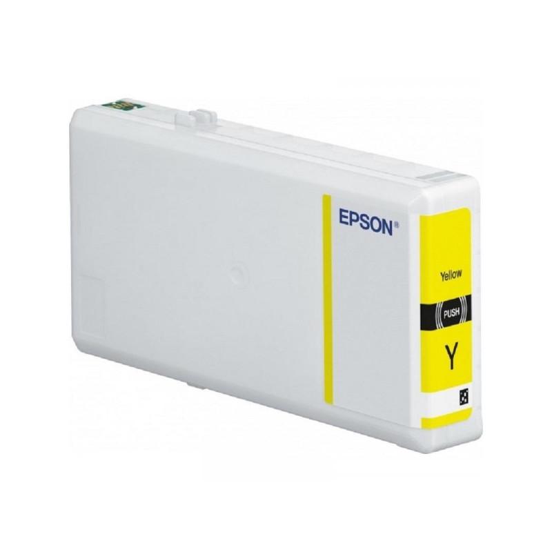 Картридж струйный Epson C13T79144010 желтый оригинальный