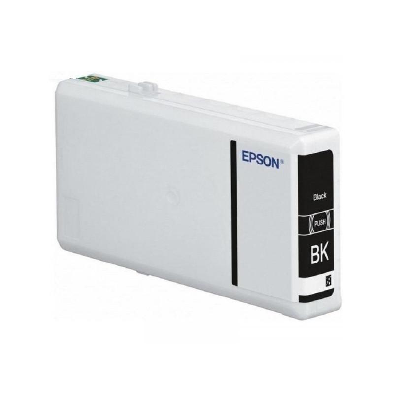 Картридж струйный Epson C13T79114010 черный оригинальный
