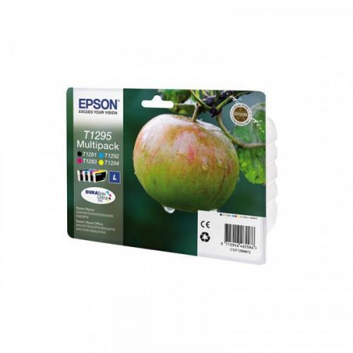 Картридж струйный Epson C13T12954012 CMYK для St SX420W/BX305F (4шт/уп)