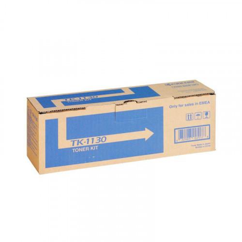 Тонер-картридж лазерный Kyocera TK-1130 черный оригинальный