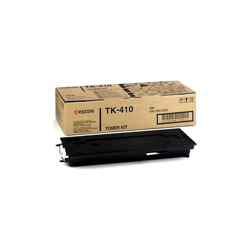 Тонер-картридж лазерный Kyocera TK-410 черный оригинальный