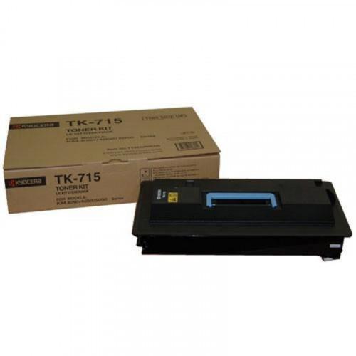 Тонер-картридж лазерный Kyocera TK-715 черный оригинальный