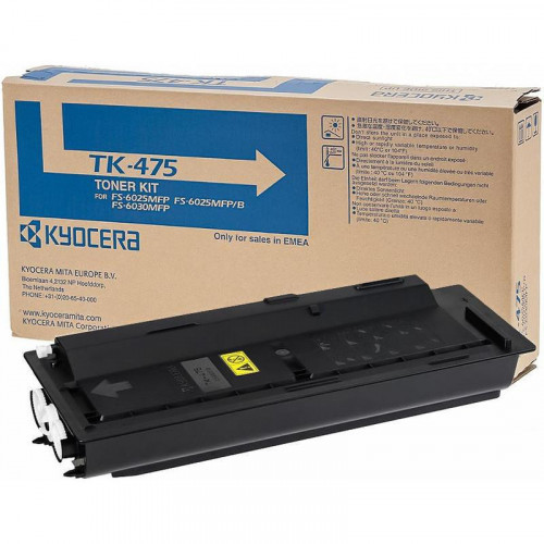 Тонер-картридж лазерный Kyocera TK-475 черный оригинальный