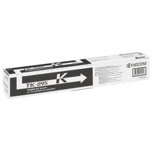 Тонер-картридж лазерный Kyocera TK-895K черный оригинальный