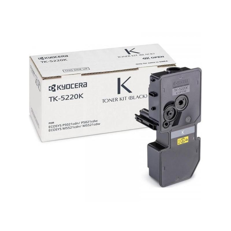 Тонер-картридж лазерный Kyocera TK-5220K черный оригинальный