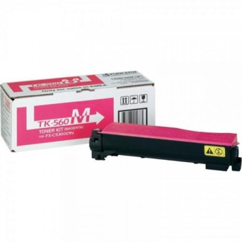 Тонер-картридж лазерный Kyocera TK-560M пурпурный оригинальный