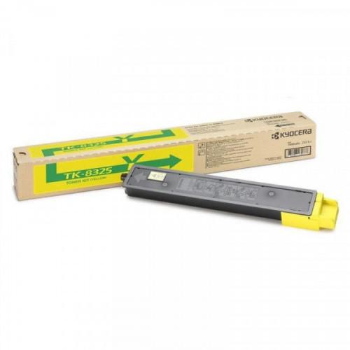 Тонер-картридж лазерный Kyocera TK-8325Y желтый оригинальный