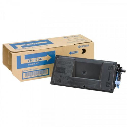 Тонер-картридж Kyocera TK-3160 черный для P3045dn/P3050dn//P3060dn