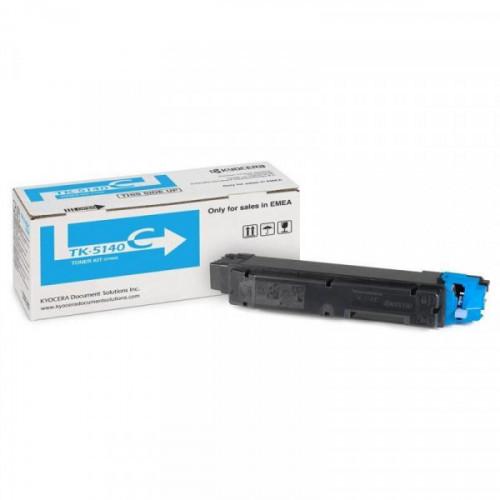 Тонер-картридж Kyocera TK-5140C голубой для P6130/6035/7040cdn