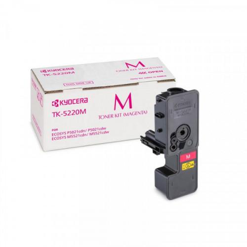 Тонер-картридж Kyocera TK-5220M пурпурный для ECOSYS M5521