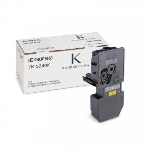 Тонер-картридж Kyocera TK-5240K черный для ECOSYS M5526