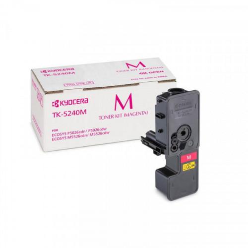 Тонер-картридж Kyocera TK-5240M пурпурный для ECOSYS M5526