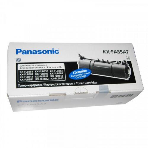 Тонер-картридж Panasonic KX-FA85A7 черный оригинальный