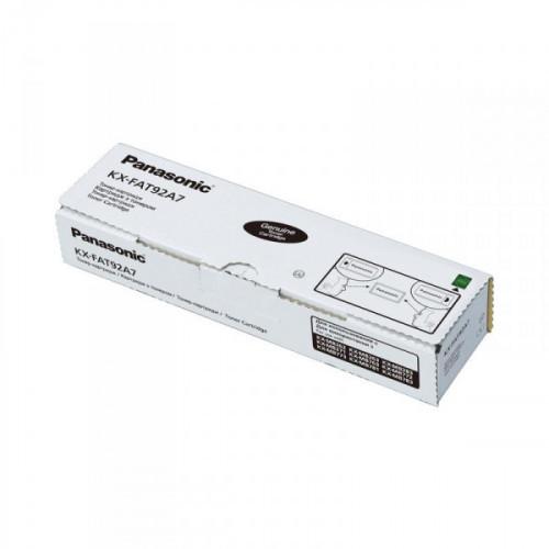 Тонер-картридж Panasonic KX-FAT92A черный оригинальный