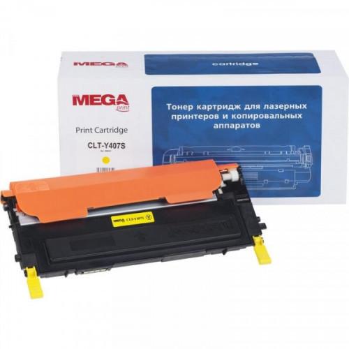 Картридж лазерный MEGA print CLT-Y407S желтый совместимый