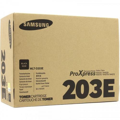 Тонер-картридж Samsung MLT-D203E SU887A черный оригинальный