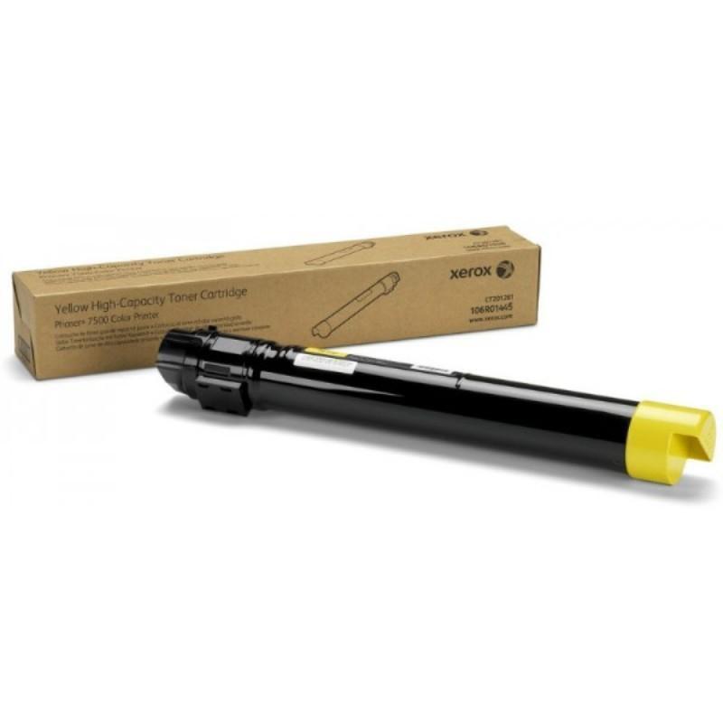 Тонер-картридж Xerox 106R01445 желтый оригинальный