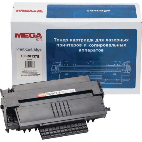 Картридж лазерный MEGA print 106R01378 черный совместимый