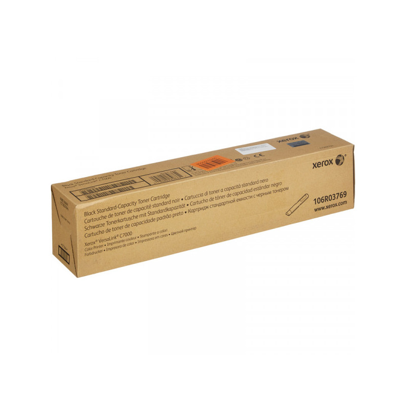 Картридж лазерный Xerox 106R03769 черный для VersaLink C7000N/DN