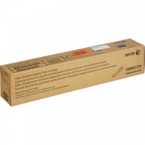 Картридж лазерный Xerox 106R03770 желтый для VersaLink C7000N/DN