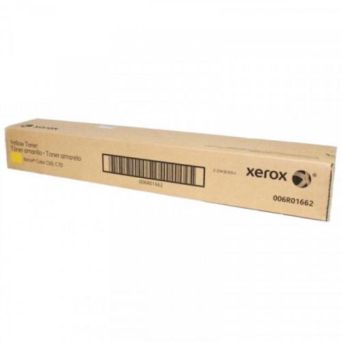 Тонер-картридж Xerox 006R01662 желтый для C60/C70