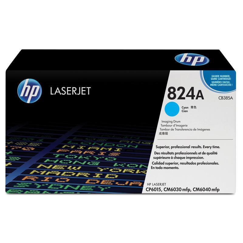 Драм-картридж HP 824A CB385A голубой оригинальный