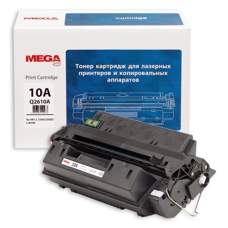 Тонер-картридж лазерный Pro Mega 10A Q2610A черный совместимый