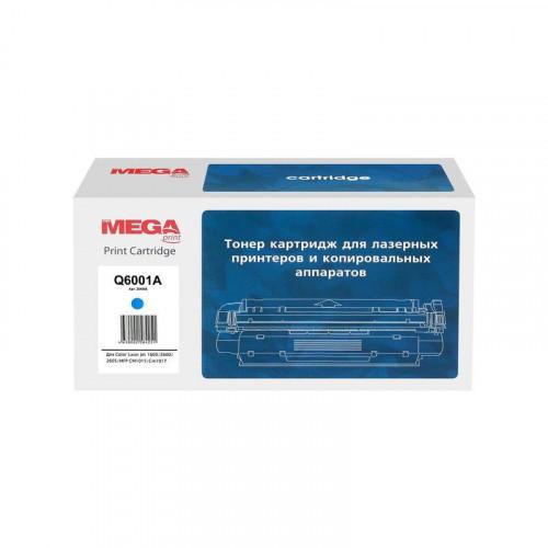 Тонер-картридж лазерный Pro Mega 124A Q6001A голубой совместимый