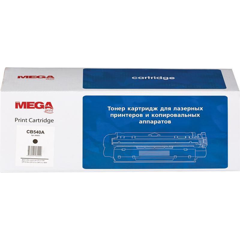 Тонер-картридж лазерный Pro Mega 125A CB540A черный совместимый