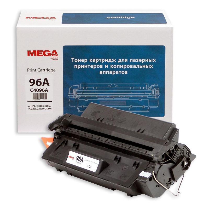 Тонер-картридж лазерный Pro Mega 96A C4096A черный совместимый