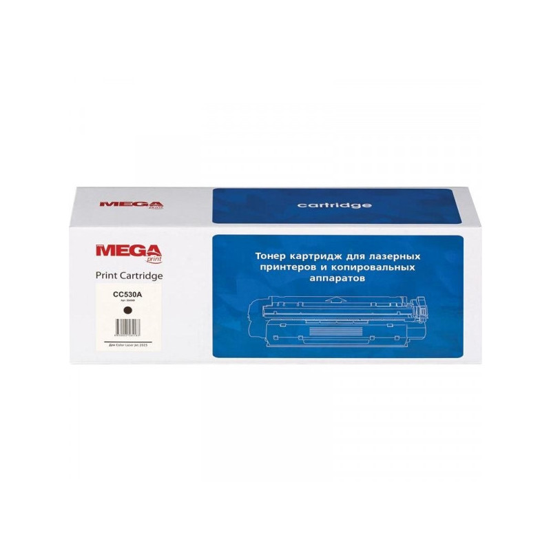 Тонер-картридж лазерный Pro Mega CC530A черный совместимый