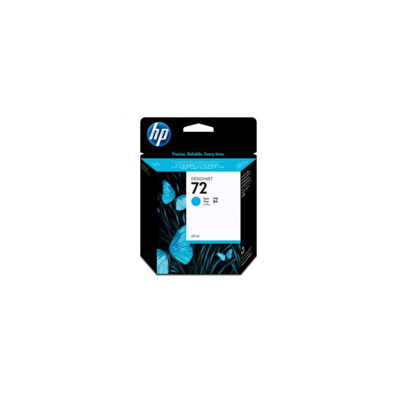Картридж струйный HP 72 C9398A голубой оригинальный