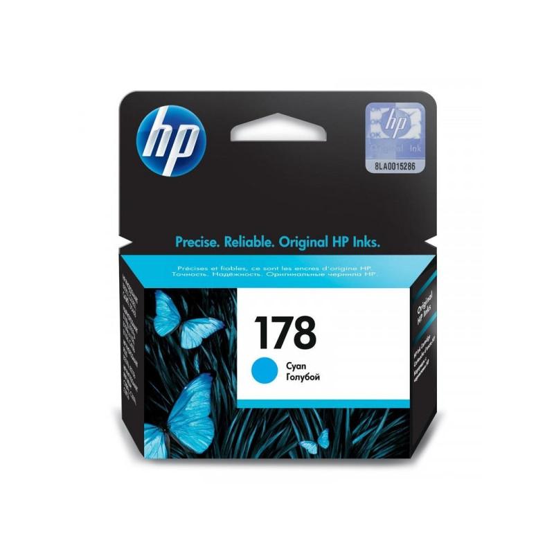 Картридж струйный HP 178 CB318HE голубой оригинальный