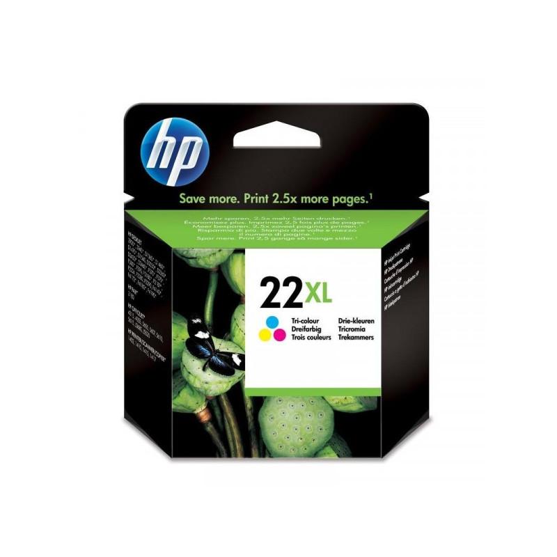 Картридж струйный HP 22XL C9352CE цветной оригинальный