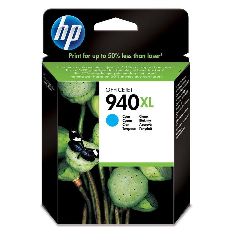 Картридж струйный HP 940XL C4907AE голубой оригинальный