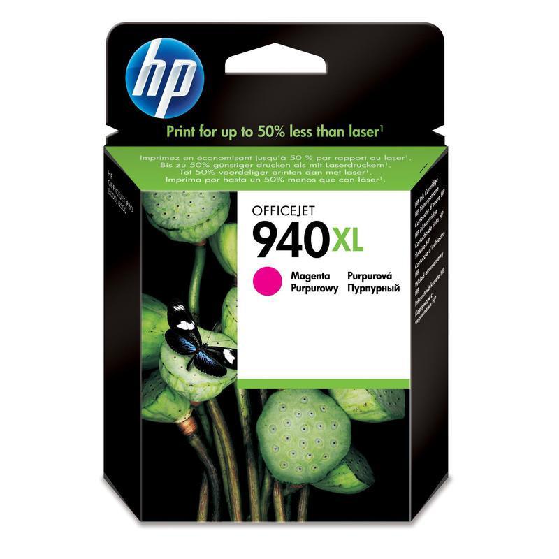 Картридж струйный HP 940XL C4908AE пурпурный оригинальный