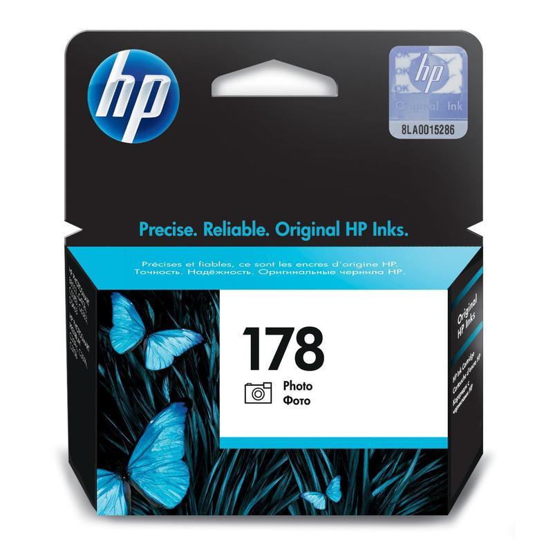 Картридж струйный HP 178 CB317HE фото черный оригинальный