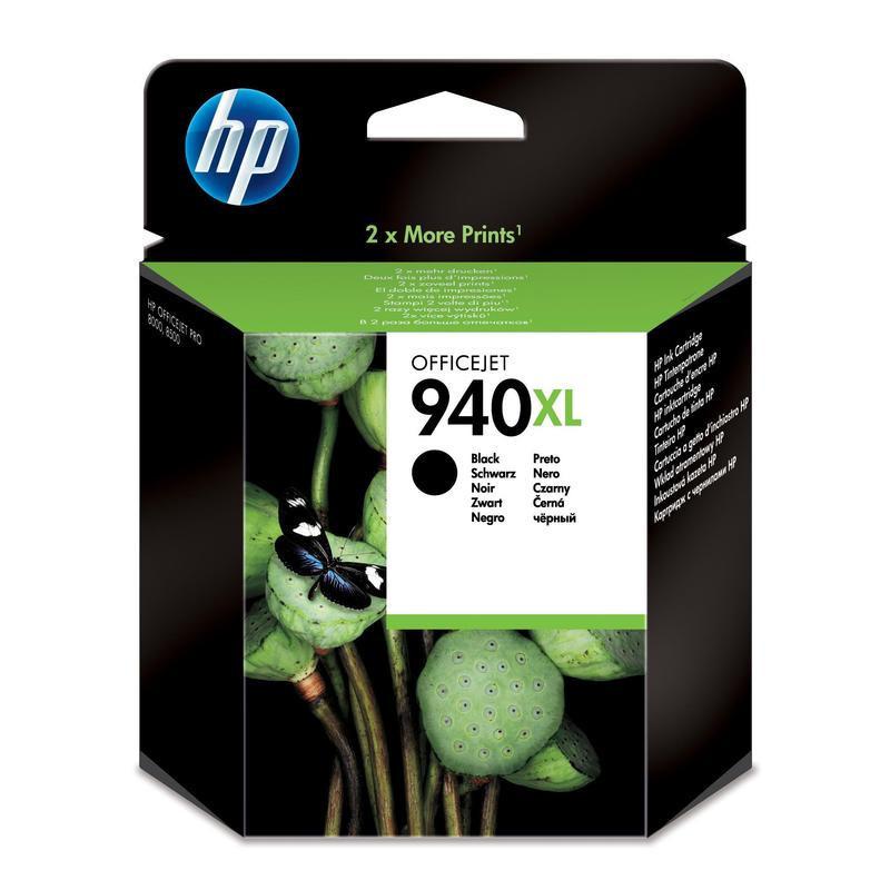 Картридж струйный HP 940XL C4906AE черный оригинальный